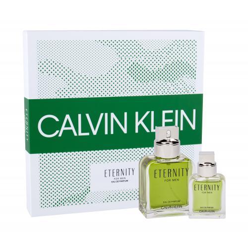 Calvin Klein Eternity For Men darčeková kazeta pre mužov parfumovaná voda 100 ml + parfumovaná voda 30 ml