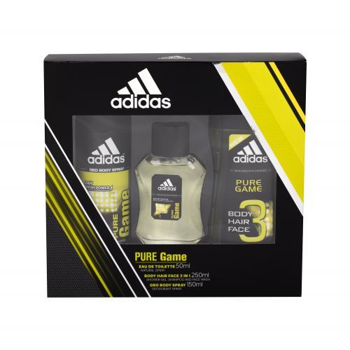 Adidas Pure Game pre mužov Edt 50ml + 150ml deospray + 250ml sprchový gel