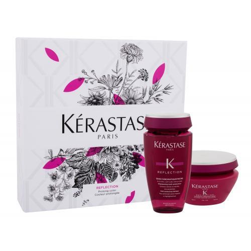 Kérastase Réflection Bain Chromatique duo set pre starostlivosť o farbené vlasy pre ženy šampón 250 ml + maska na vlasy 200 ml