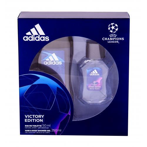 Adidas UEFA Champions League Victory Edition pre mužov toaletná voda 50 ml + sprchovací gél 250 ml