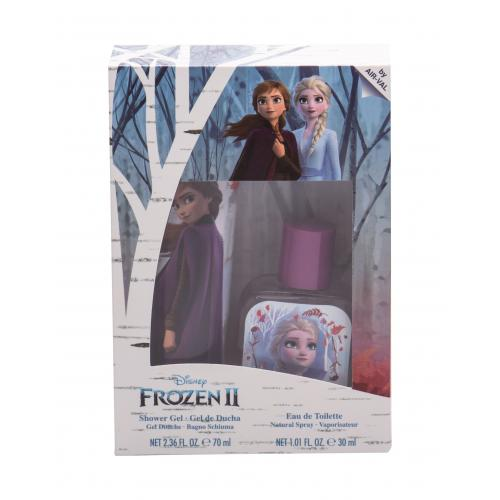Disney Frozen II darčeková kazeta pre deti toaletná voda 30 ml + sprchovací gél 70 ml