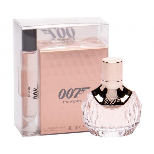 James Bond 007 James Bond 007 For Women II darčeková kazeta pre ženy parfumovaná voda 30 ml + parfumovaná voda 7,4 ml