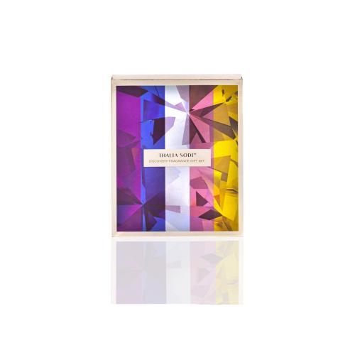 Thalia Sodi Mini Set pre ženy edp Absolute Amethyst 4 ml + edp Azure Crystal 4 ml + edp Blooming Opal 4 ml + edp Diamond Petals 4 ml + edp Liquid Sun 4 ml miniatura