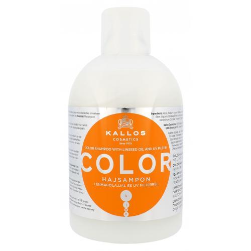 Kallos Cosmetics Color 1000 ml šampón pre farbené vlasy pre ženy