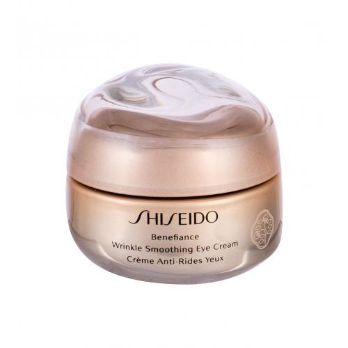 Shiseido Benefiance Wrinkle Smoothing 15 ml protivráskový očný krém pre ženy