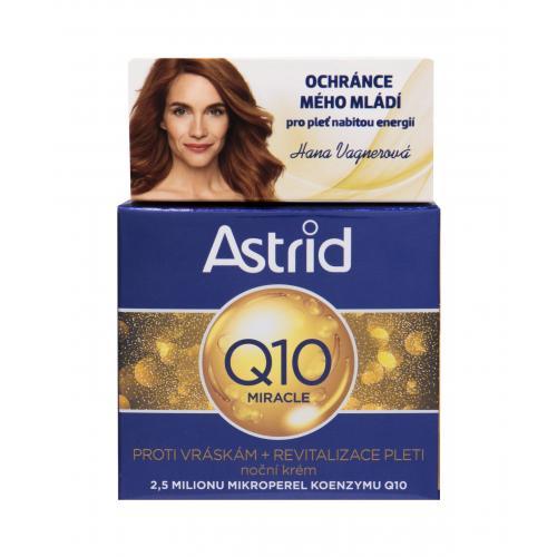 Astrid Q10 Miracle 50 ml nočný krém proti vráskam pre ženy