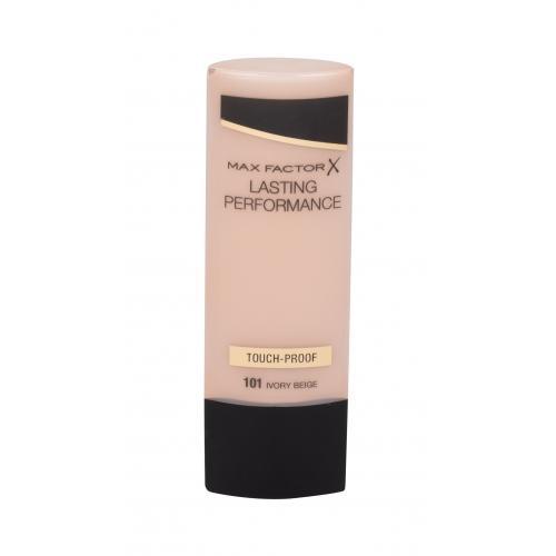 Max Factor Lasting Performance 35 ml jemný tekutý make-up pre ženy 101 Ivory Beige