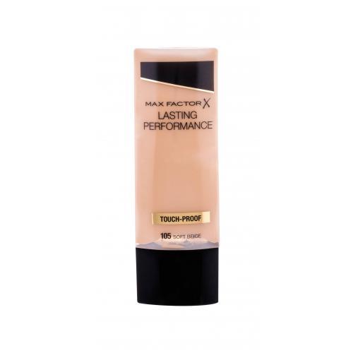 Max Factor Lasting Performance 35 ml jemný tekutý make-up pre ženy 105 Soft Beige