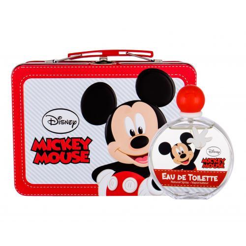 Disney Mickey Mouse darčeková kazeta pre deti toaletná voda 100 ml + plechová krabička