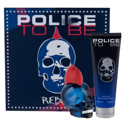 Police To Be Rebel darčeková kazeta pre mužov toaletná voda 75 ml + sprchovací gél 100 ml