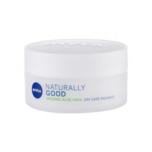 Nivea Naturally Good Aloe Vera 50 ml rozjasňujúci denný pleťový krém pre ženy