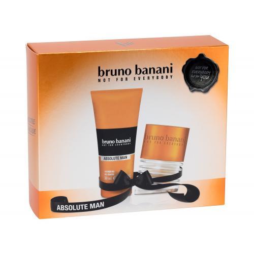 Bruno Banani Absolute Man darčeková kazeta pre mužov toaletná voda 30 ml + sprchovací gél 50 ml