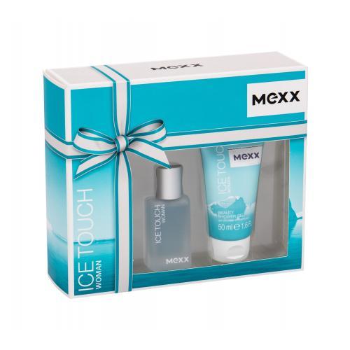 Mexx Ice Touch Woman 2014 poškodená krabička pre ženy toaletná voda 15 ml + sprchovací gél 50 ml
