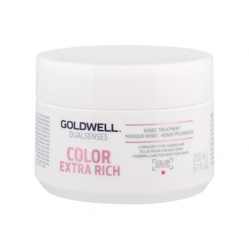 Goldwell Dualsenses Color Extra Rich 60 Sec Treatment 200 ml maska na vlasy pre ženy