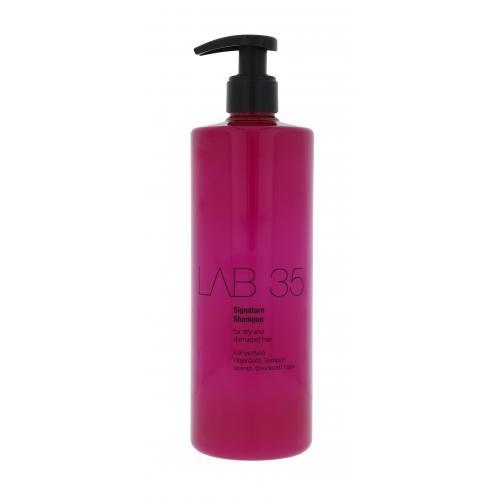 Kallos Cosmetics Lab 35 Signature 500 ml šampón pre suché a poškodené vlasy pre ženy