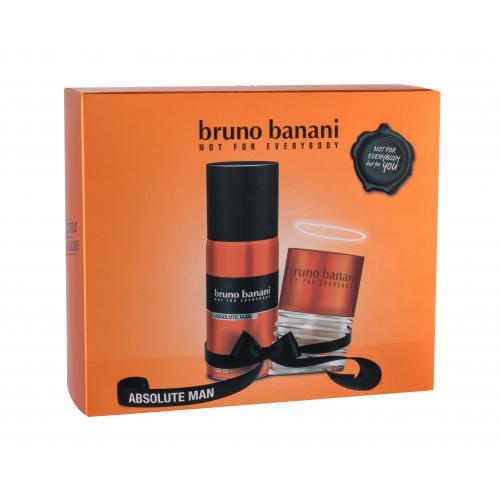 Bruno Banani Absolute Man darčeková kazeta poškodená krabička pre mužov toaletná voda 30 ml + dezodorant 150 ml