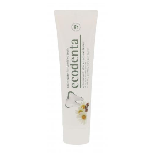Ecodenta Toothpaste For Sensitive Teeth 100 ml zubná pasta na citlivé zuby poškodená krabička unisex