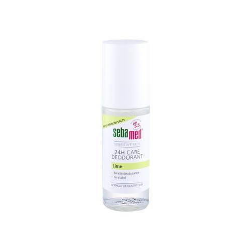 SebaMed Sensitive Skin 24H Care Lime 50 ml dezodorant roll-on pre ženy