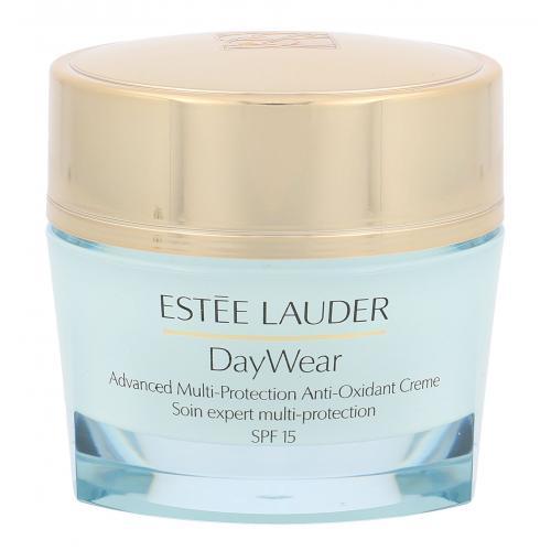 Estée Lauder DayWear Multi-Protection Anti-Oxidant 24H SPF15 50 ml ochranný hydratačný krém na suchú pleť poškodená krabička pre ženy