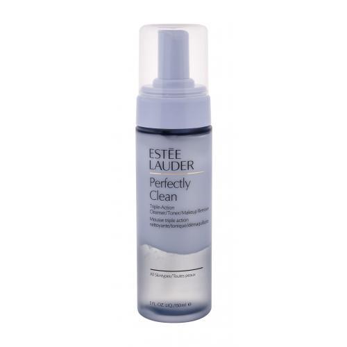 Estée Lauder Perfectly Clean Triple Action Cleanser 150 ml dvojfázová čistiaca pena pre ženy