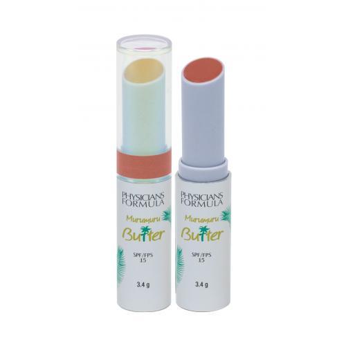 Physicians Formula Murumuru Butter Lip Cream SPF15 3,4 g tonizujúci balzam na pery s krémovou textúrou pre ženy Brazilian Sunset