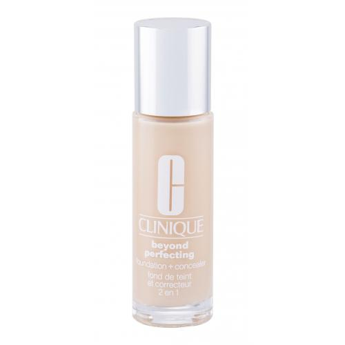 Clinique Beyond Perfecting™ Foundation + Concealer 30 ml make-up a korektor 2v1 pre ženy CN 10 Alabaster
