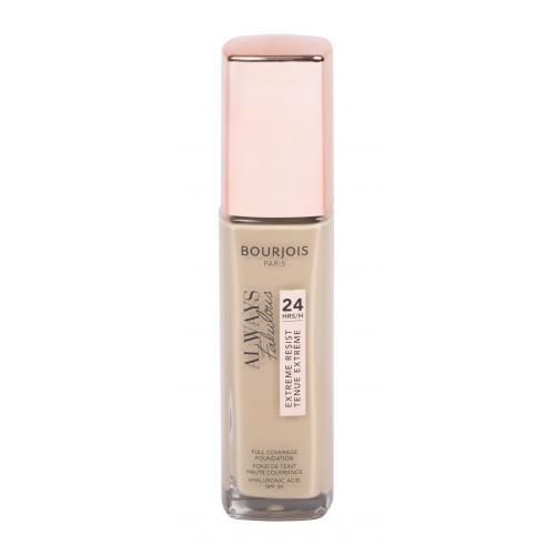 BOURJOIS Paris Always Fabulous 24H SPF20 30 ml dlhotrvajúci make-up na fantastický vzhľad pre ženy 420 Light Sand