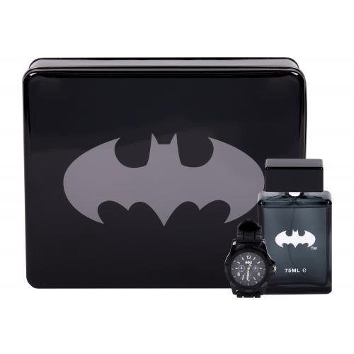 DC Comics Batman darčeková kazeta pre deti toaletná voda 75 ml + hodinky