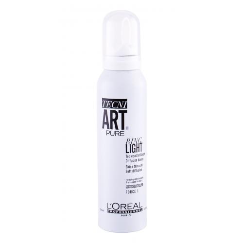 L´Oréal Professionnel Tecni.Art Pure Ring Light 150 ml lak na vlasy s vysokým leskom pre ženy