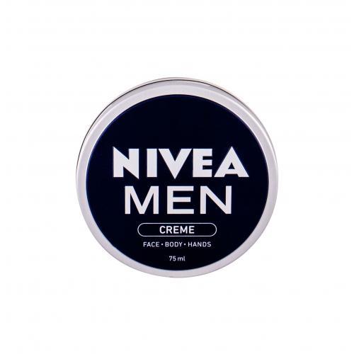 Nivea Men Creme Face Body Hands 75 ml krém na tvár, telo a ruky pre mužov