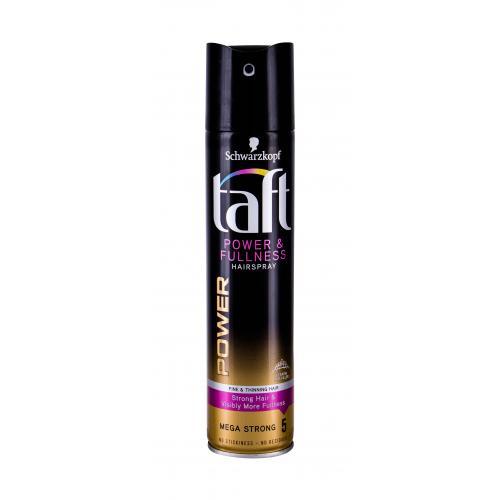 Schwarzkopf Taft Power & Fullness 250 ml lak na vlasy na plnší účes s extra silnou fixáciou pre ženy