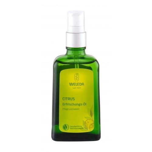 Weleda Citrus Refreshing 100 ml osviežujúci a hydratačný citrusový olej pre ženy