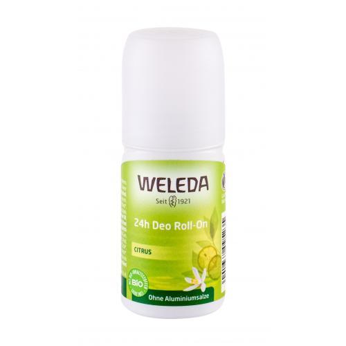 Weleda Citrus 24h Roll-On 50 ml citrusový dezodorant bez hliníkových solí pre ženy