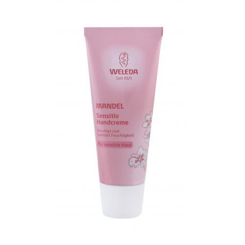 Weleda Almond Sensitive 50 ml mandľový krém na ruky pre citlivú pokožku pre ženy