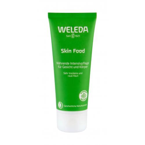 Weleda Skin Food Face & Body 75 ml univerzálny hydratačný krém na veľmi suchú až hrubú pokožku pre ženy