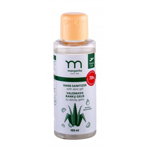 Margarita Hand Sanitizer 100 ml dezinfekčný gél na ruky s aloe vera unisex