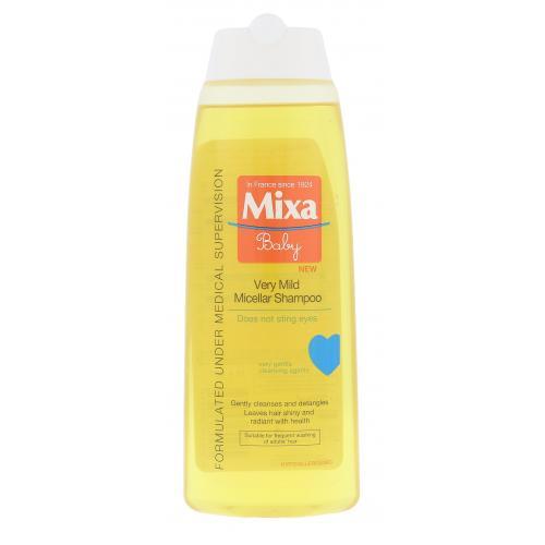 Mixa Baby Very Mild Micellar Shampoo 250 ml šampón pre deti