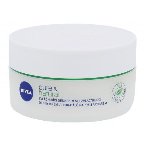 Nivea Pure & Natural 50 ml krém pre normálnu až zmiešanú pleť pre ženy