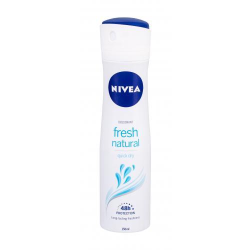 Nivea Fresh Natural 48h 150 ml dezodorant deospray pre ženy