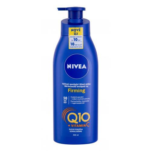 Nivea Q10 + Vitamin C Firming 400 ml spevňujúce telové mlieko pre suchú pokožku pre ženy