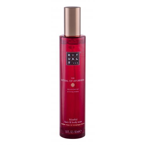 Rituals The Ritual Of Ayurveda 50 ml sprej na telo aj vlasy so sladkou vôňou medu a indickej ruže pre ženy