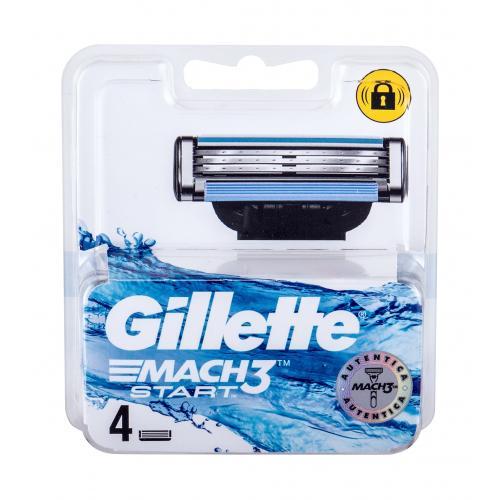 Gillette Mach3 Start 4 ks náhradné ostrie pre mužov
