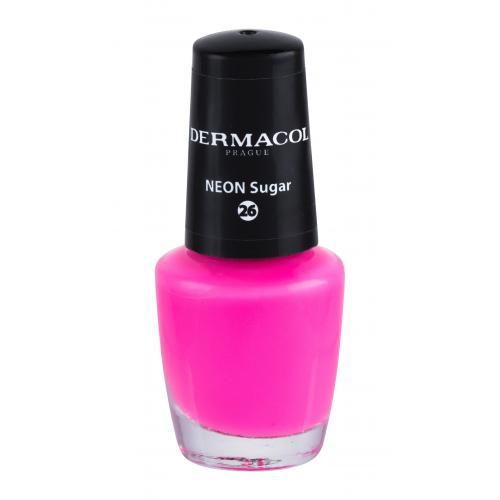 Dermacol Neon 5 ml neónový lak na nechty pre ženy 26 Neon Sugar