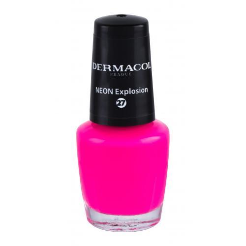 Dermacol Neon 5 ml neónový lak na nechty pre ženy 27 Neon Explosion