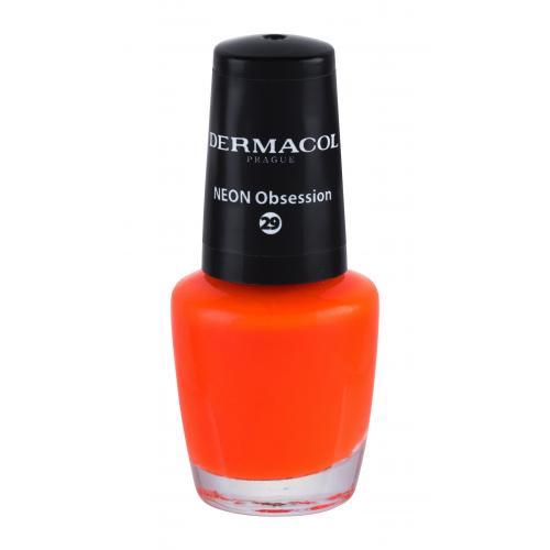 Dermacol Neon 5 ml neónový lak na nechty pre ženy 29 Neon Obsession