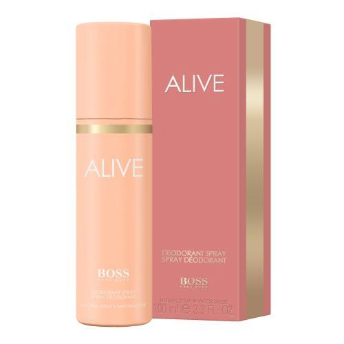 HUGO BOSS BOSS Alive 100 ml dezodorant deospray pre ženy