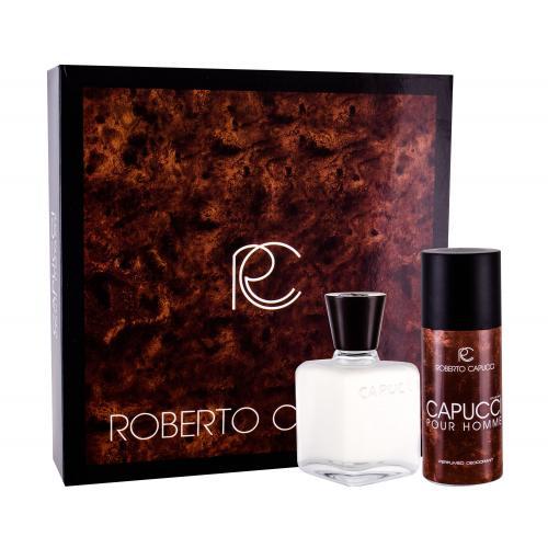 Roberto Capucci Capucci Pour Homme darčeková kazeta pre mužov voda po holení 100 ml + dezodorant 120 ml