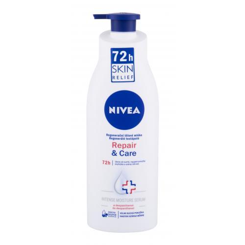 Nivea Repair & Care 72h 400 ml regeneračné telové mlieko na suchú pokožku pre ženy