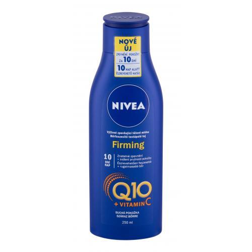 Nivea Q10 + Vitamin C Firming 250 ml spevňujúce telové mlieko na suchú pokožku pre ženy