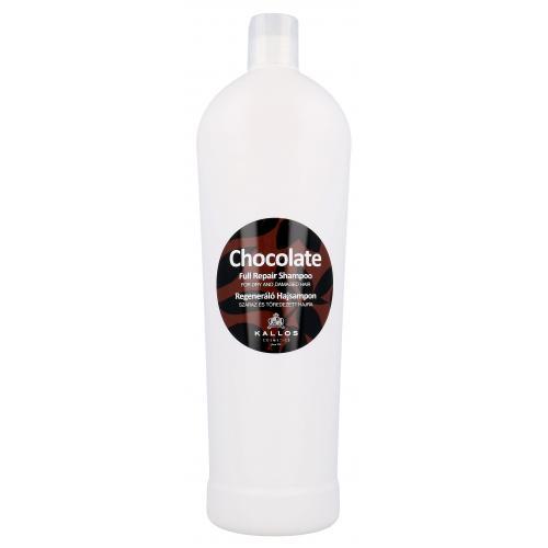 Kallos Cosmetics Chocolate 1000 ml regeneračný šampón pre suché a poškodené vlasy pre ženy